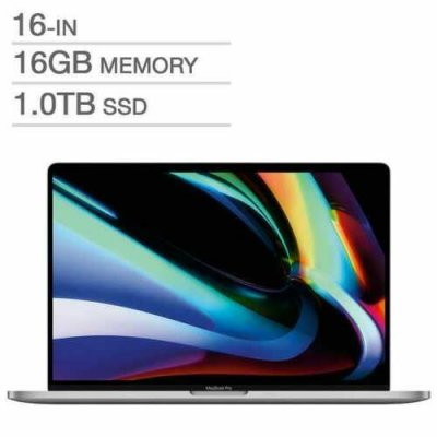 "Apple MacBook Pro 16"" (1TB SSD, i9 9th Gen., 2.30 GHz, 16GB)"