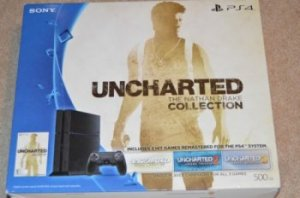 PS4 500GB Uncharted Nathan Drake Collection Console Bundle