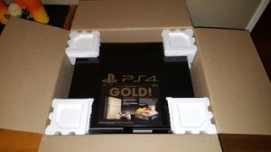 Limited Edition Gold Sony PlayStation 4 Bundle from Taco Bell