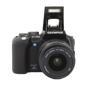 Olympus Evolt E500 8MP Digital SLR