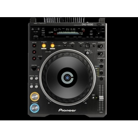 Pioneer DVJ-1000 Professional CD DVD MP3 Audio/Video Turntable DJ Mixer Player