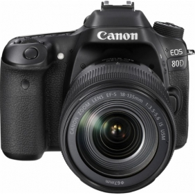 Canon - EOS 80D DSLR Camera with 18-135mm IS USM Lens