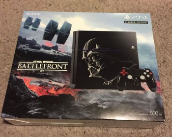 Sony Playstation 4 500GB Star Wars Battlefront Limited Edition