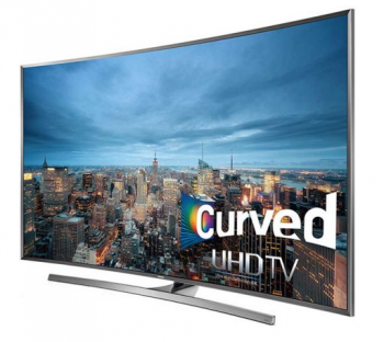 "Samsung UN78JU7500 78"" curved Smart LED 4K Ultra HD TV"