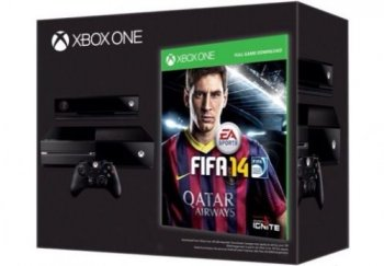 Microsoft Xbox ONE DAY ONE Console with FIFA 14 Commemorative Edition